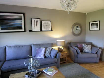 Sitting room design and styling service