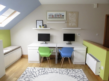 Playroom and study Contemporary design in Athlone
