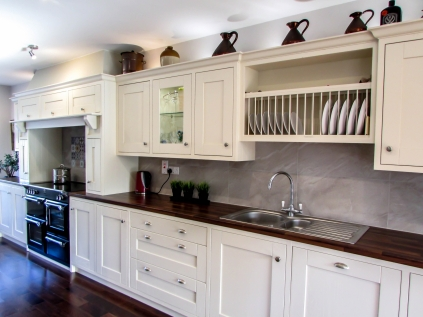 Contemporary kitchen design, sourcing of decorative finishes and final Interior styling