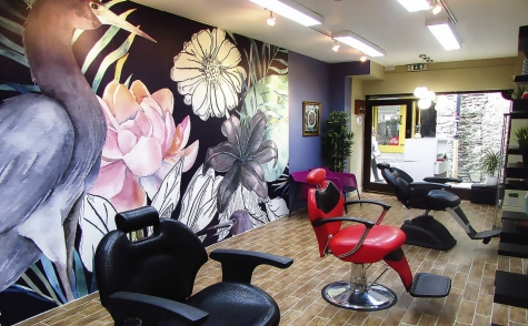 Beauty salon design in Kilkenny
