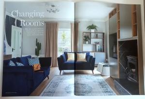 Interior design by AlenaCDesign in magazine
