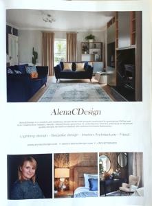 Interior designer AlenaCDesign in Image Magazine