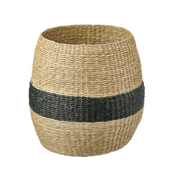 Basket black Ikea shopping